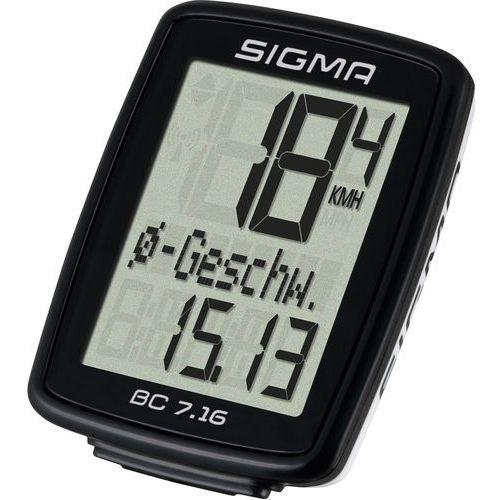 Licznik rowerowy sigma bc 7.16 marki Sigma sport