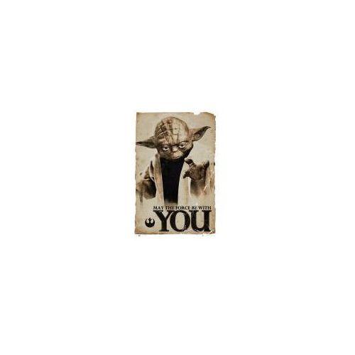 Galeria Star wars gwiezdne wojny - yoda - niech moc będzie z tobą - plakat (5028486223244)
