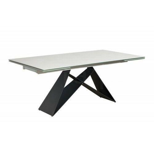 Sofa.pl Stół rozkładany prometheus cement - blat ceramiczny,podstawa metalowa