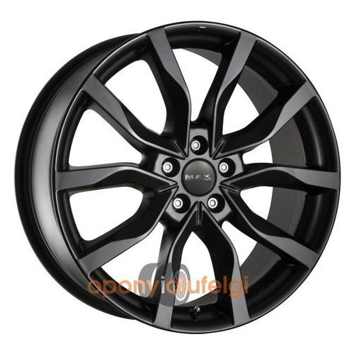 MAK KOLN MATT BLACK 8.00x18 5x112 ET48 DOT