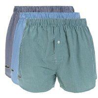 Lacoste 3-pack szorty czarny niebieski zielony s