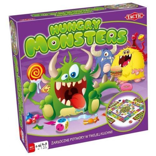 Gra TACTIC Hungry Monsters 40843