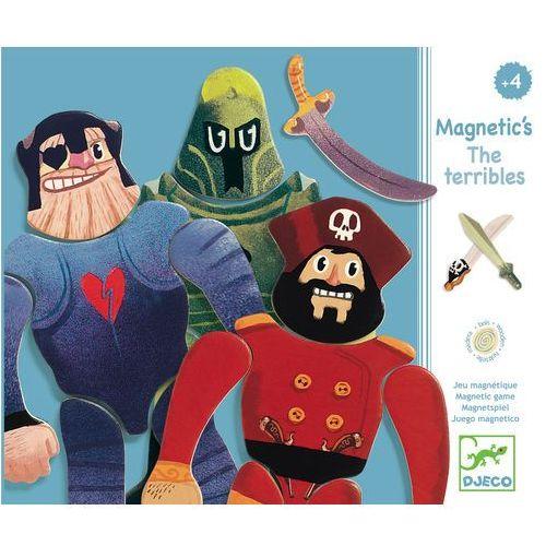 Drewniana układanka magnetyczna - Los Machos (3070900031227)