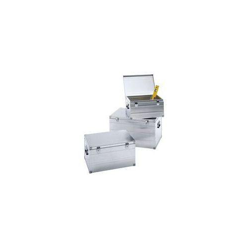 Aluminiowy pojemnik transportowy,zestaw potrójny