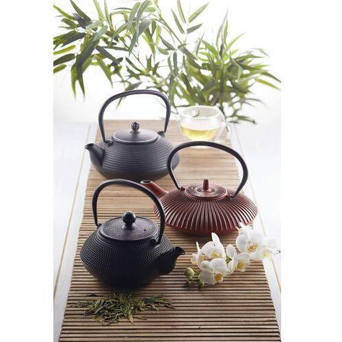 Kitchen craft Żeliwny dzbanek do zaparzania herbaty czarny, 0,6 litra (kclxteacast01) (5028250665843)