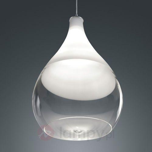 Lampa wisząca Kingston ze szklanym kloszem (4017807301212)