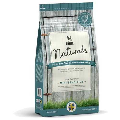 BOZITA Naturals Mini Sensitive 0,95kg (7311030137127)