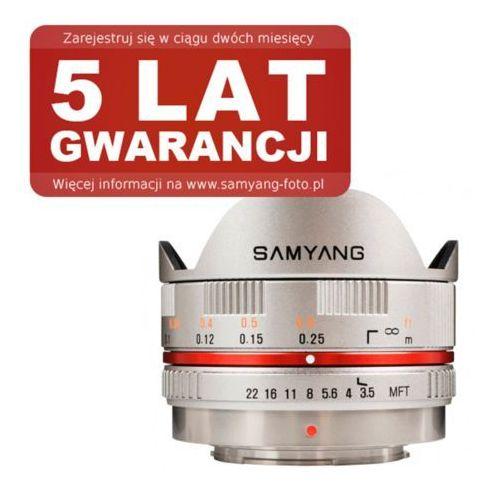 Samyang 7.5 mm f/3.5 UMC Fish-eye Micro 4/3 (szary), kup u jednego z partnerów