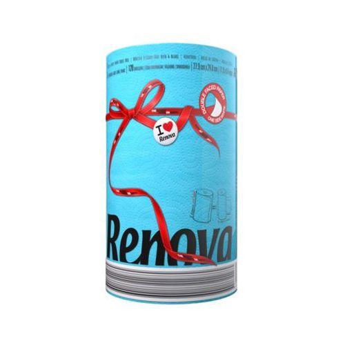 1szt niebieski red label ręcznik papierowy marki Renova