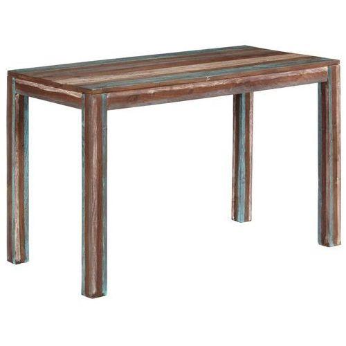 Stół do jadalni z litego drewna, vintage, 118 x 60 x 76 cm