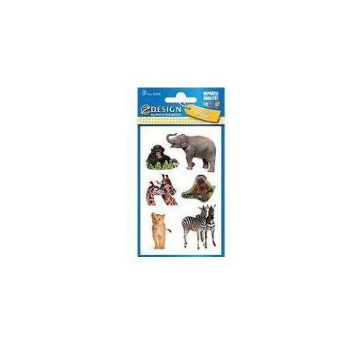 Naklejki papierowe dzikie zwierzeta (4004182559789)