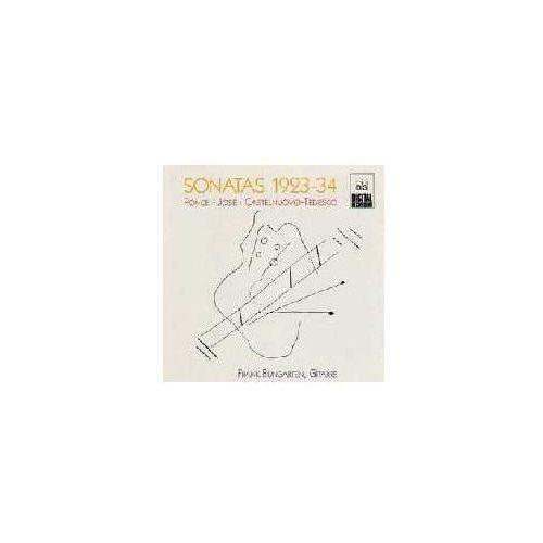 Mdg Castelnuovo / jose / ponce: sonatas 1923-34 (guitar)
