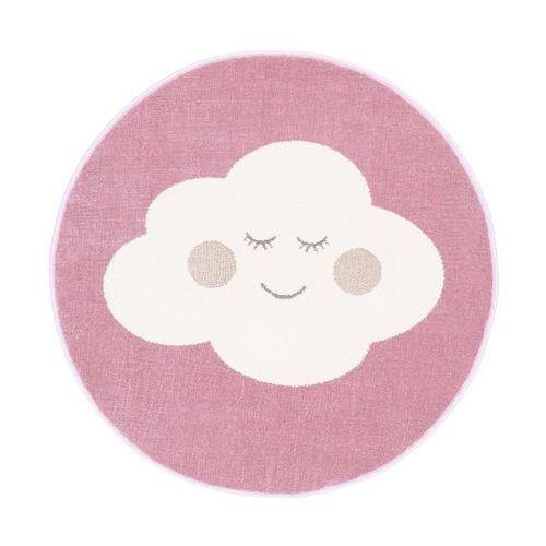 Agnella Dywan dziecięcy cloud różowy okrągły śr. 80 cm (5901760094900)