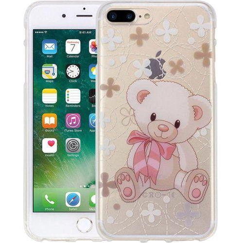 Perlecom Pokrowiec na tył iphone  4260481643363, pasuje do modelu telefonu: apple iphone 7 plus (4260481643363)