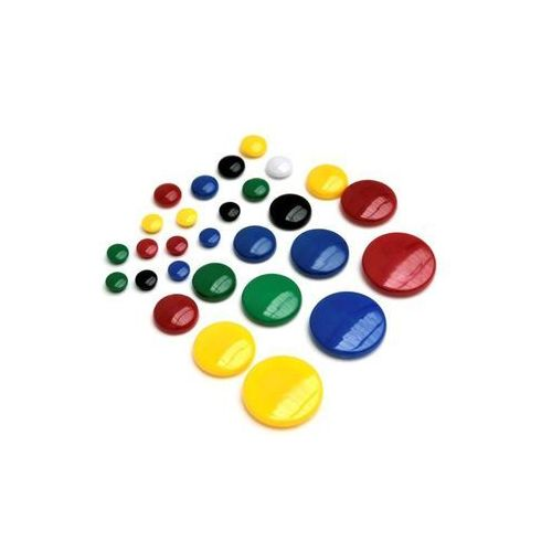 Magnesy magnetyczne punkty mocujące , 15 mm, 10 sztuk, czarne - rabaty - porady - hurt - negocjacja cen - autoryzowana dystrybucja - szybka dostawa marki Argo