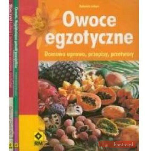 Owoce egzotyczne / Clematis / Storczyki, oprawa miękka
