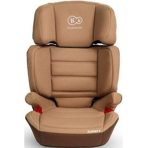 Fotelik samochodowy junior plus brązowy (9 - 36 kg) + darmowy transport! marki Kinderkraft