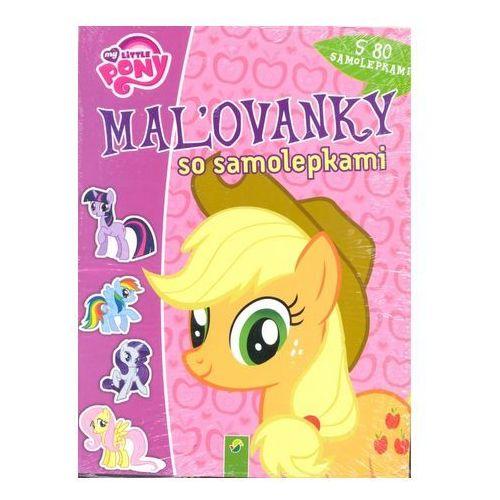 Maľovanky so samolepkami - My Little Pony autor neuvedený
