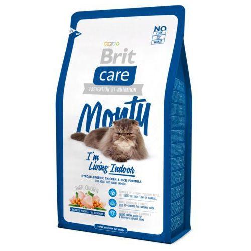 care cat monty i'm living indoor 2 kg ## charytatywny sklep ## 100% zysku sklepu na pomoc psiakom:) marki Brit