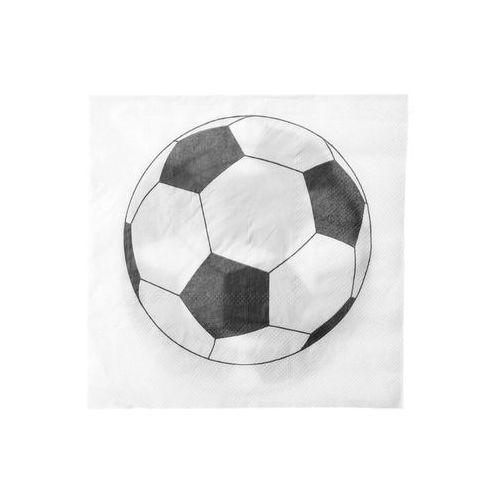 Santex Serwetki urodzinowe piłkarskie soccer party - 33 cm - 20 szt. (3016600082404)