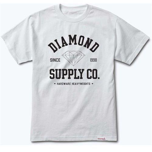 Diamond Koszulka - athletic tee white (wht) rozmiar: l