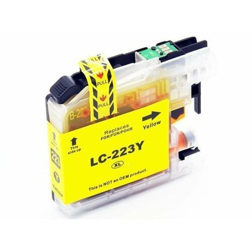 Dd-print Lc223y tusz żółty do brother dcp-j4120dw mfc-j4420dw / nowy zamiennik / 17ml