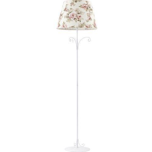 Tklighting Lampa oprawa podłogowa tk lighting rosa 1x60w e27 ecri/kwiatowy nadruk 365
