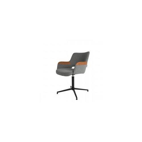 Fotel obrotowy SYL brązowy - Zuiver