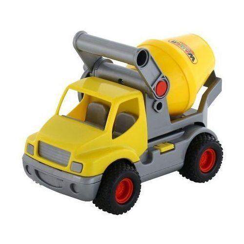 Construck samochód-betoniarka żółty marki Wader-polesie