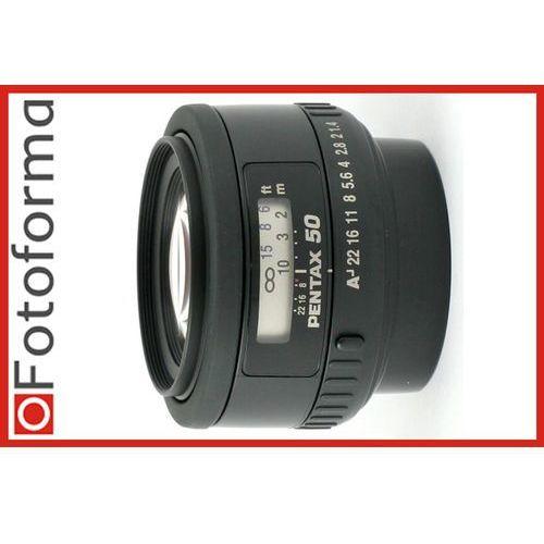 smc fa 50mm f/1.4 marki Pentax