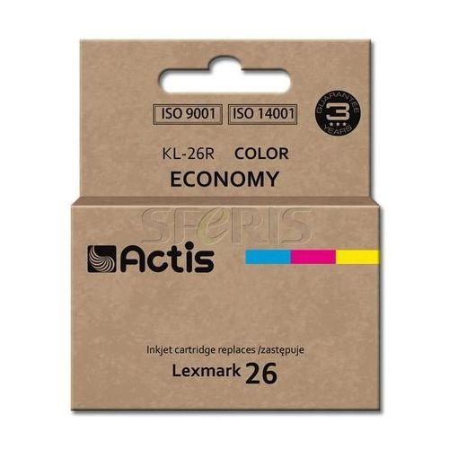 Actis KL-26R tusz kolorowy do drukarki Lexmark (zamiennik Lexmark 26 10N0026), kolor Kolorowy