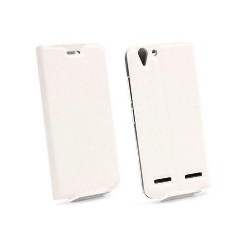 Etuo flex book Lenovo k5 plus - pokrowiec na telefon - biały