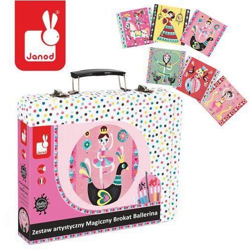 Zestaw artystyczny Magiczny brokat Ballerina - zabawki dla dzieci