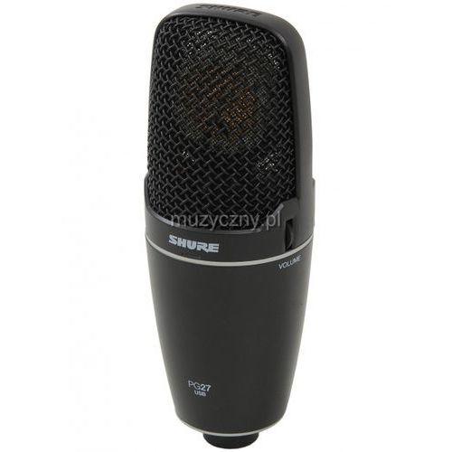 Shure pg 27-usb mikrofon pojemnościowy usb