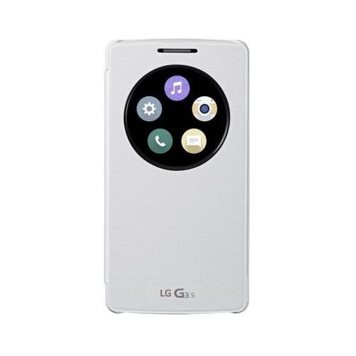 Etui LG Quick Circle do LG G3S Biały, CCF-490G.AGEUWH