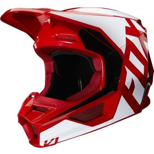 Fox kask off-road v-1 prix flame red