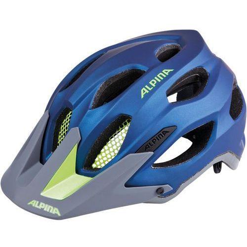 Alpina Carapax Kask rowerowy niebieski 57-62cm 2018 Kaski rowerowe
