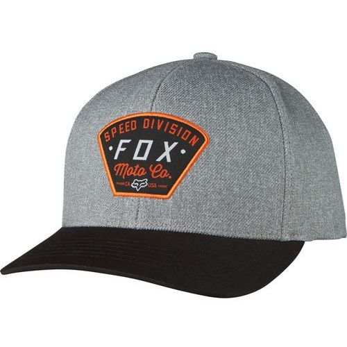 Fox  czapka męska szary seek and construct