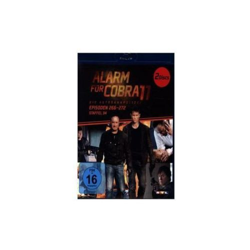 Alarm für Cobra 11, 2 Blu-rays. Staffel.34