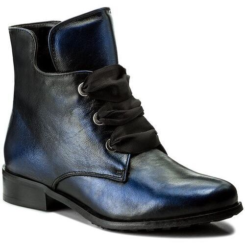 Botki - 77-4538-f63-1g czarny/niebieski marki Eksbut