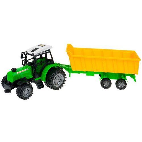 Zestaw 4 traktorów + maszyny rolnicze dla małego farmera marki Kindersafe