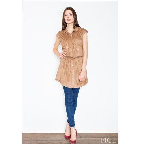 Sukienka model m451 brown, Figl