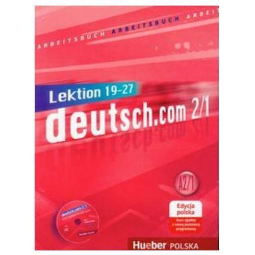 deutsch.com 2/1,Arbeitsbuch mit 1 CD edycja polska (zeszyt ćwiczeń)