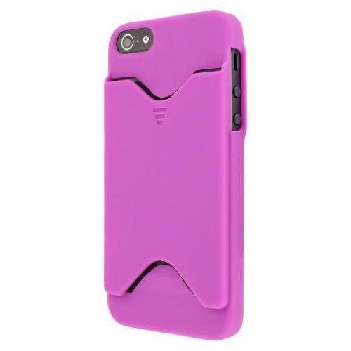 Empire Mpero kolekcji wallet credit autod hot pink różowy etui case futerał na telefon komórkowy for apple iphone 5 (0887615105081)