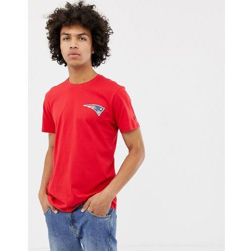 nfl new england patriots t-shirt with back print in red - red, New era, S-XXL