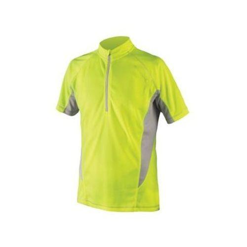 Endura cairn koszulka kolarska mężczyźni żółty xl koszulki rowerowe z krótkim rękawem (5055205374635)