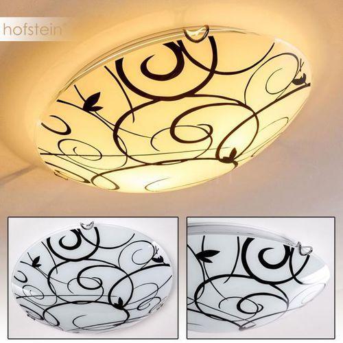 Hofstein Floral lampa sufitowa biały, 2-punktowe - - nowoczesny/design - obszar wewnętrzny - floral - (4250294304926)