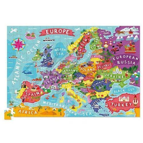 Puzze Mapa Europy 200, 78426603843ZA (5405004)