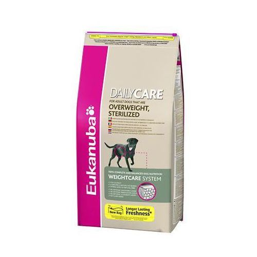 special care overweight sterilized nadwaga/psy sterylizowane 2.5/12.5kg, marki Eukanuba