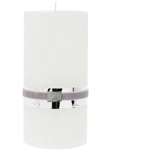 Lene Bjerre Świeca 12.5 cm biała